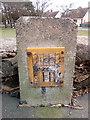 SH7879 : Hydrant marker on Pentywyn Road, Llandudno Junction by Meirion