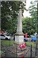 TF2157 : War Memorial, Market Place, Tattershall by Jo Turner