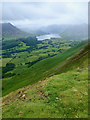 NY1323 : Crummock Water from a small knoll below Low Fell by Mick Garratt