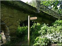 SE2839 : East end of Seven Arches aqueduct by Stephen Craven