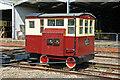 SU5290 : Didcot Railway Centre - traverser by Chris Allen