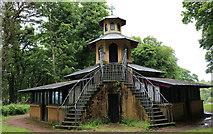 NS2209 : The Pagoda, Culzean Country Park by Billy McCrorie