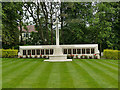 SE2639 : Lawnswood cemetery: war memorial by Stephen Craven