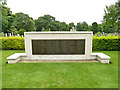 SE2639 : Lawnswood cemetery: WW2 memorial by Stephen Craven