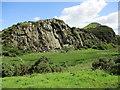 NT0473 : Western flank of Binny Craig by Alan O'Dowd