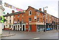 SK2004 : Shops at the junction of Church Street at Silver Street by Roger Templeman