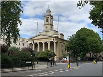 TQ2879 : St Peter's Church, Eaton Square by Andrew Abbott
