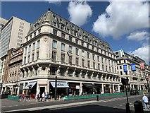 TQ2881 : Roxburghe House, 281-287 Regent Street, London by Andrew Abbott