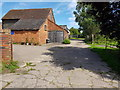 SO9962 : Buildings at Moat Farm, Berrowhill Lane by Jeff Gogarty