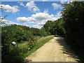 SU0597 : Thames & Severn Way near South Cerney by Malc McDonald
