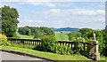 SD9158 : Balustrade at Newfield Hall by Trevor Littlewood
