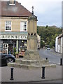 NU2406 : Old Central Cross in Warkworth by Milestone Society