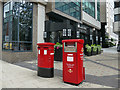 SE2933 : Postboxes on East Parade, Leeds by Stephen Craven