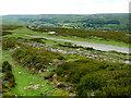 SE0496 : Crossing bridleways, Harkerside Moor by Andy Waddington