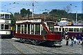 SK3454 : Douglas Head Marine Drive tram no.1 by Alan Murray-Rust