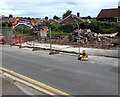 ST3090 : Rubble in a Pillmawr Road demolition site, Malpas, Newport by Jaggery