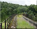 NY4175 : View onto the Liddel Viaduct by James T M Towill