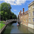 TL4458 : Cambridge: the return of punting by John Sutton