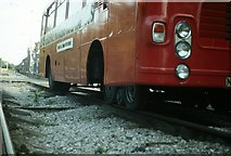 SK3455 : Road-rail bus at Crich, 1980 – 3 by Alan Murray-Rust