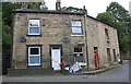 SD9827 : Houses at junction of King Street and Savile Road by Roger Templeman