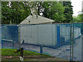 SE2639 : Former flower shop and tea room at Lawnswood cemetery by Stephen Craven