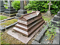 SE2639 : Kitson memorial in Lawnswood cemetery by Stephen Craven
