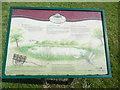 TQ0499 : Information Board by Sarratt Pond by David Hillas