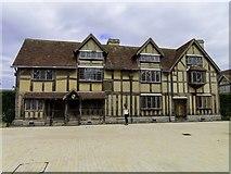 SP2055 : Shakespeare's Birthplace in Henley Street by Steve Daniels