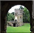 SE3103 : Stainborough Castle by Dave Pickersgill