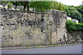 SD9927 : Walls on east side of Keighley Road opposite Lee Mill Road junction by Luke Shaw