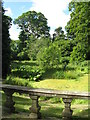 NT2076 : Pond in the grounds of Lauriston Castle by M J Richardson
