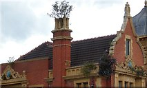 SJ7996 : Trafford Park Hotel: Architectural detail (3) by Gerald England