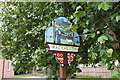 TG2812 : Rackheath village sign by Adrian S Pye