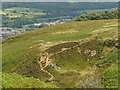 SE1046 : Former Grainings Head quarry by Stephen Craven