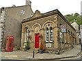SD8263 : Former Lloyds bank building, Castle Hill, Settle by Stephen Craven