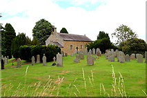 NY9257 : Parish Church of St Helen, Whitley Chapel by Andrew Curtis