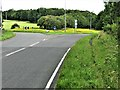 NZ1335 : Roundabout at the intersection of the A68 and A689 by G Laird