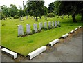 NS6067 : Commonwealth War Graves, Sighthill Cemetery by Richard Sutcliffe