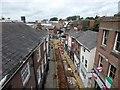 SJ8990 : Roadworks on Little Underbank by Gerald England