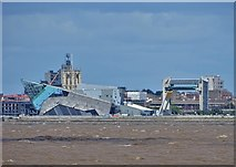 TA1028 : An image of Hull seen from Goxhill Haven by Neil Theasby