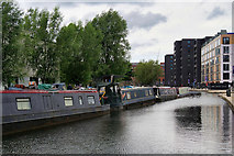SJ8598 : New Islington Marina by David Dixon