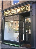 NT2572 : Buttercup Dairy shop front, Marchmont by Richard Webb