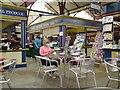 SJ8990 : Inside Stockport Market Hall by Gerald England