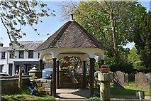 TQ5935 : Lych gate by N Chadwick