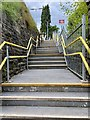 SO0603 : Railway station staircase by Alan Hughes