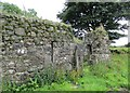NS7884 : Ruined farm buildings at Wester Barnego by Alan O'Dowd