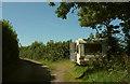 SX7959 : Caravan, Green Lane by Derek Harper
