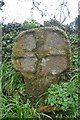 SW3925 : Old Wayside Cross by L Nott