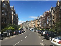 NT2572 : Marchmont  Crescent by Richard Webb