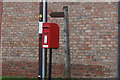SE7852 : NHS Priority Postbox, Yapham by Ian S